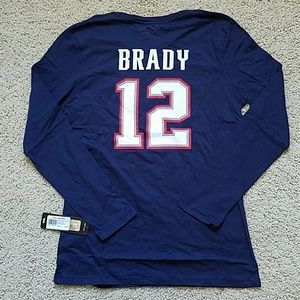 Long sleeved Brady/ Patriots shirt